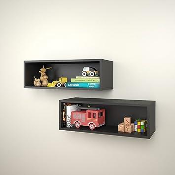 Nexera Decorative Wall Rectangles 2 pcs 223506 Floating Shelves NEW