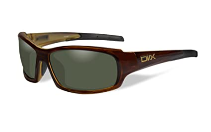 7d6c2a84bf Amazon.com  DVX by Wiley X -OCULUS- SUN   SAFETY- POLARIZED GREEN ...
