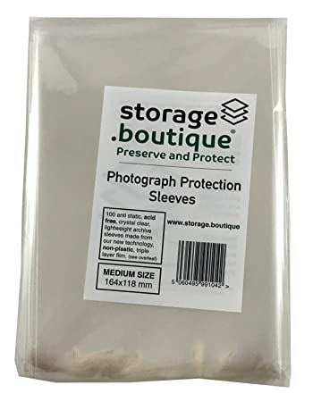 Storageboutique Photograph Protector Sleeves Wallets Acid Free