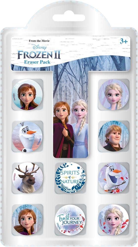 Pack de gomas de borrar de Frozen 2 - Disney: Amazon.es: Oficina y ...