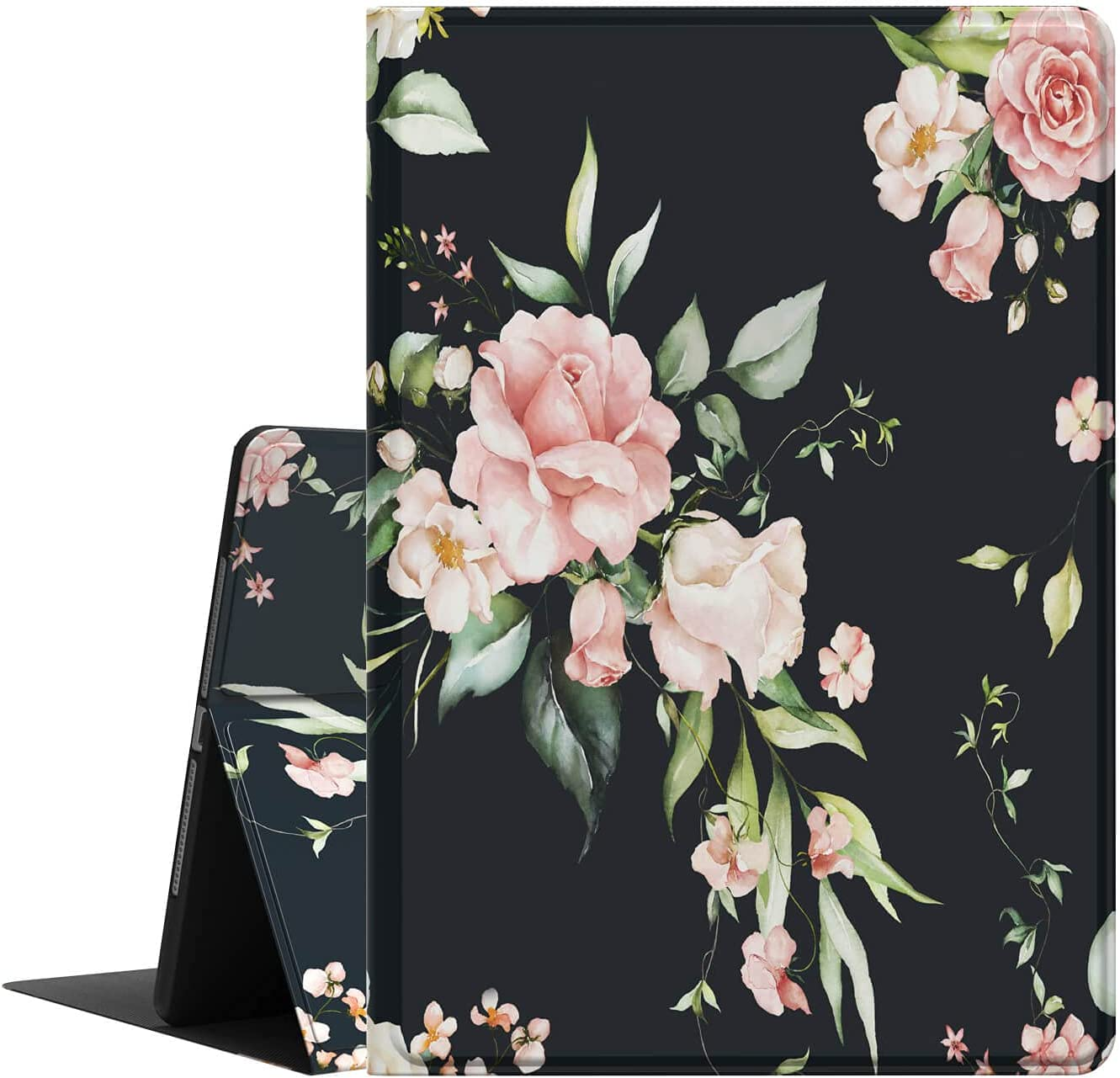 iPad Mini 5 Case, iPad Mini 4 Case, Feams PU Leather Shockproof Shell Stand Smart Cover with Auto Wake/Sleep for iPad Mini 5th Gen 2019/iPad Mini 4 2015 7.9 inch Tablet, Rose