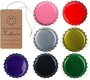 315 Pack Beer Bottle Caps Oxygen Absorbing Crowns, Ideal for HomeBrew, 7 Assorted Colors