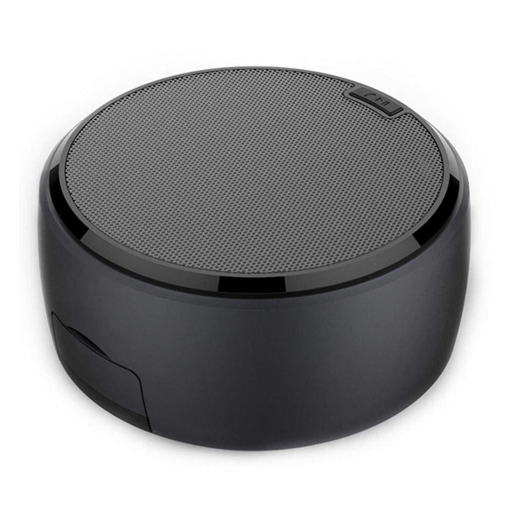 Bracket Bluetooth Speaker,BOOMER VIVI Ultra Portable Wireless Rechargeable Handsfree Speaker with Phone Holder,Prefect for iPad iPhone 6 6S 7 8 Plus X (Black) by BOOMER VIVI