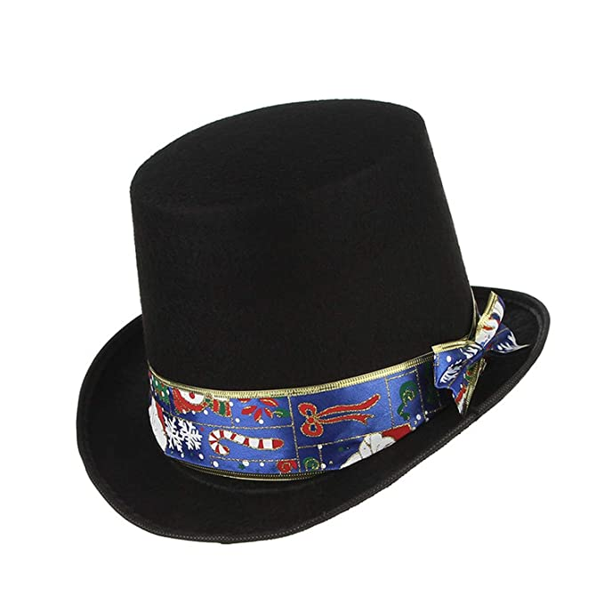 300b3e24add74 Image Unavailable. Image not available for. Color  Fedora Hats for Black  Magic Hat Classical ...