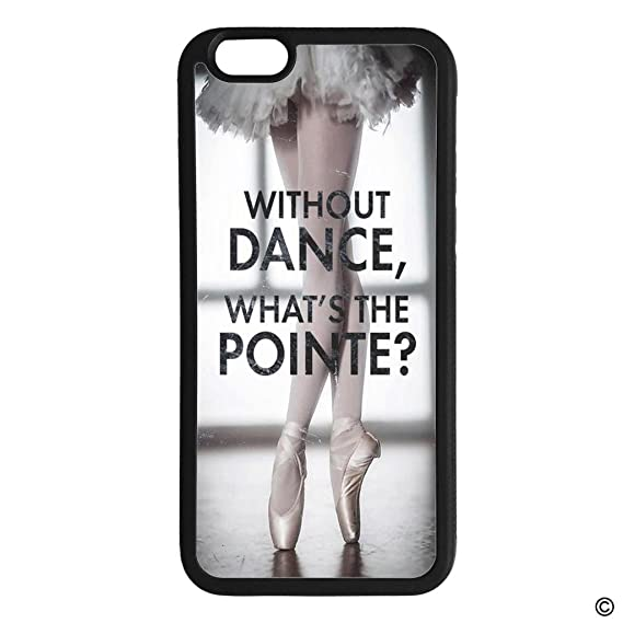 reputable site f1123 1f053 Amazon.com: MsMr iPhone 6 Plus/iPhone 6s Plus Size Phone Case Ballet ...