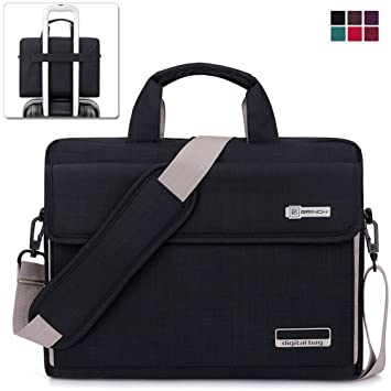 93bf803edb BRINCH Laptop Bags 15インチ~15.6インチラップトップバッグ 3WAYノートパソコンケース 衝撃