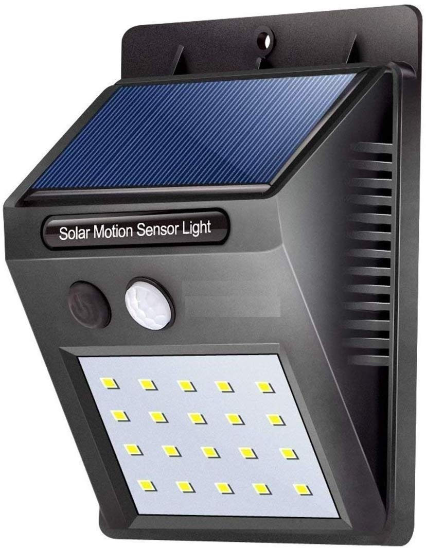 Zamkar 20 LED Solar Motion Sensor Light,Outdoor Weatherproof Garden Solar LED Light product image