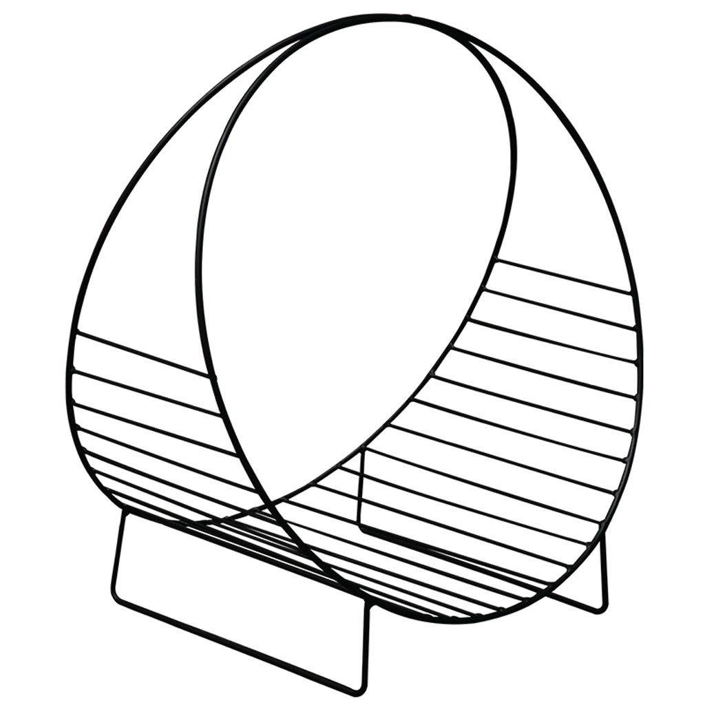 ZXPzZ 卓上移動式床の棚/小型テーブルのマガジンラック、金属の棚の小型鉄のテーブルの円形フレーム(携帯用) B07RJBBFSZ