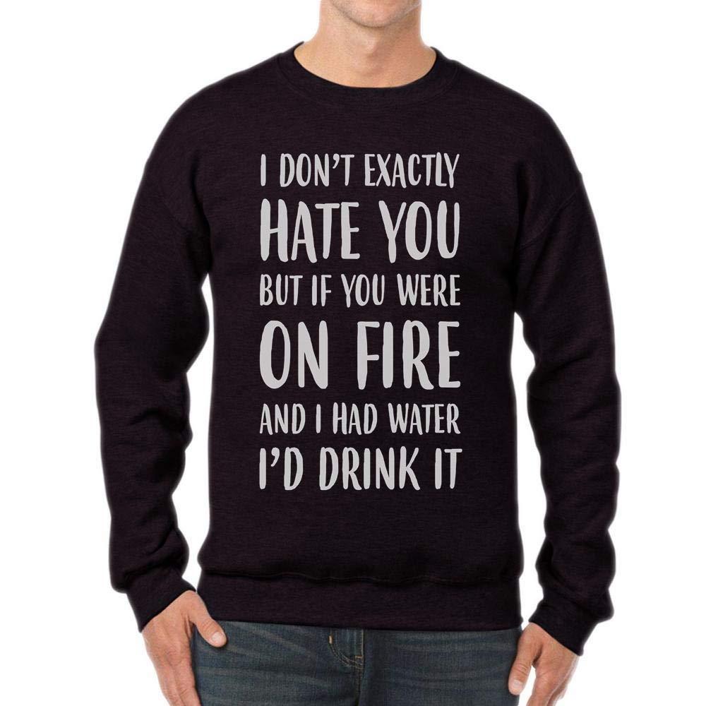 tee Id Drink it Funny Unisex Sweatshirt
