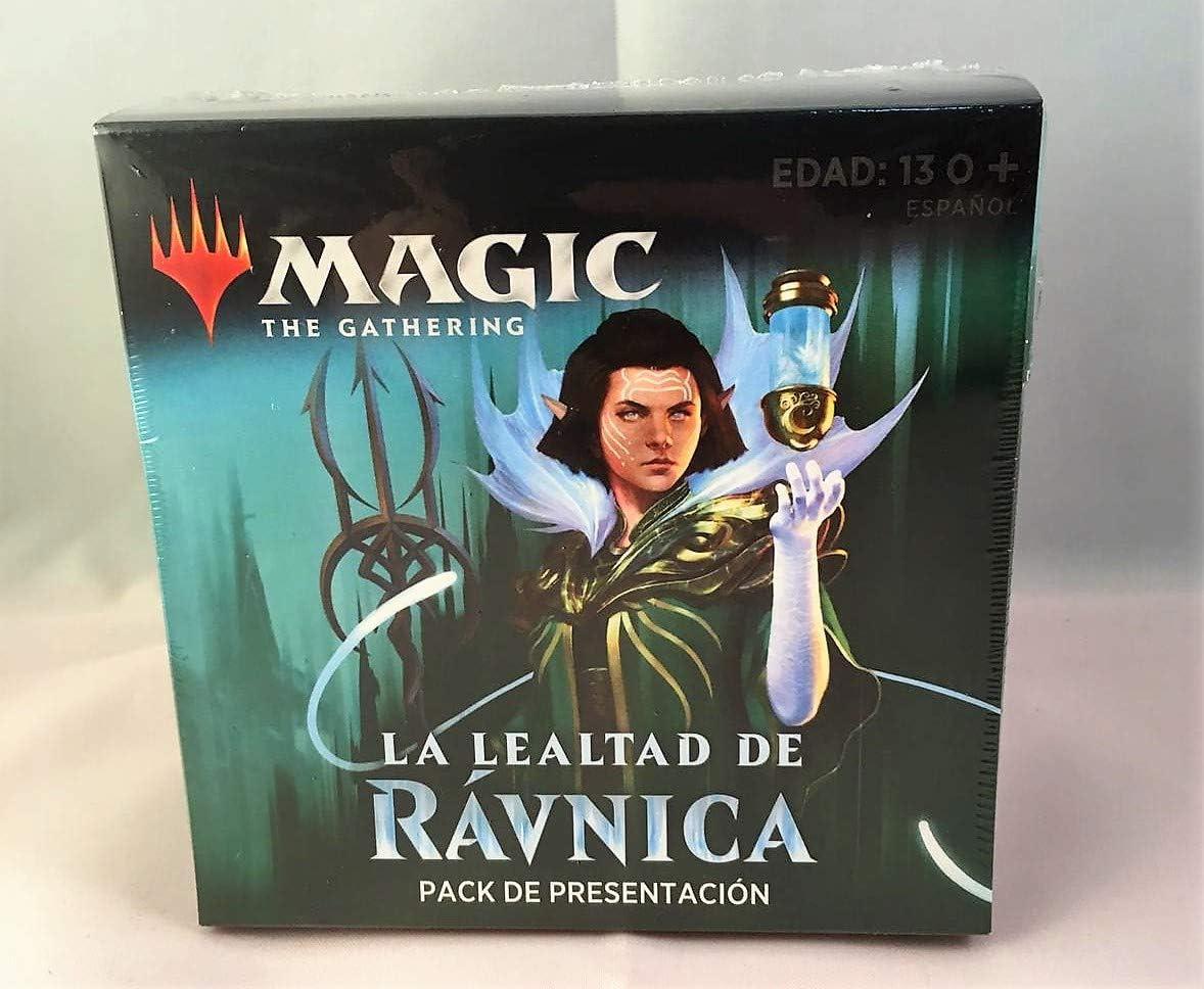 Caja Magic la Lealtad de ravnica (simic)  Pack de presentacion ...