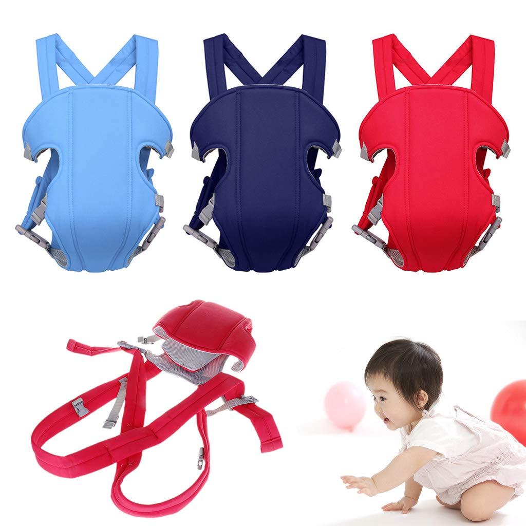 multifunktionaler Rucksack verstellbarer Riemen ripengPI Babytrage f/ür Neugeborene Sicherheit weich