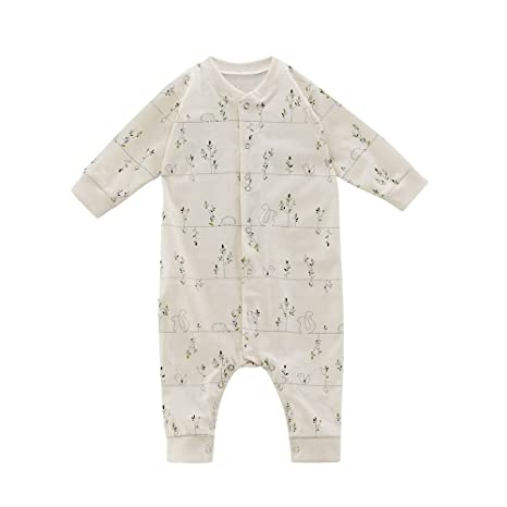 Living Crafts - Pelele para bebé o niño (algodón orgánico, talla 50/56