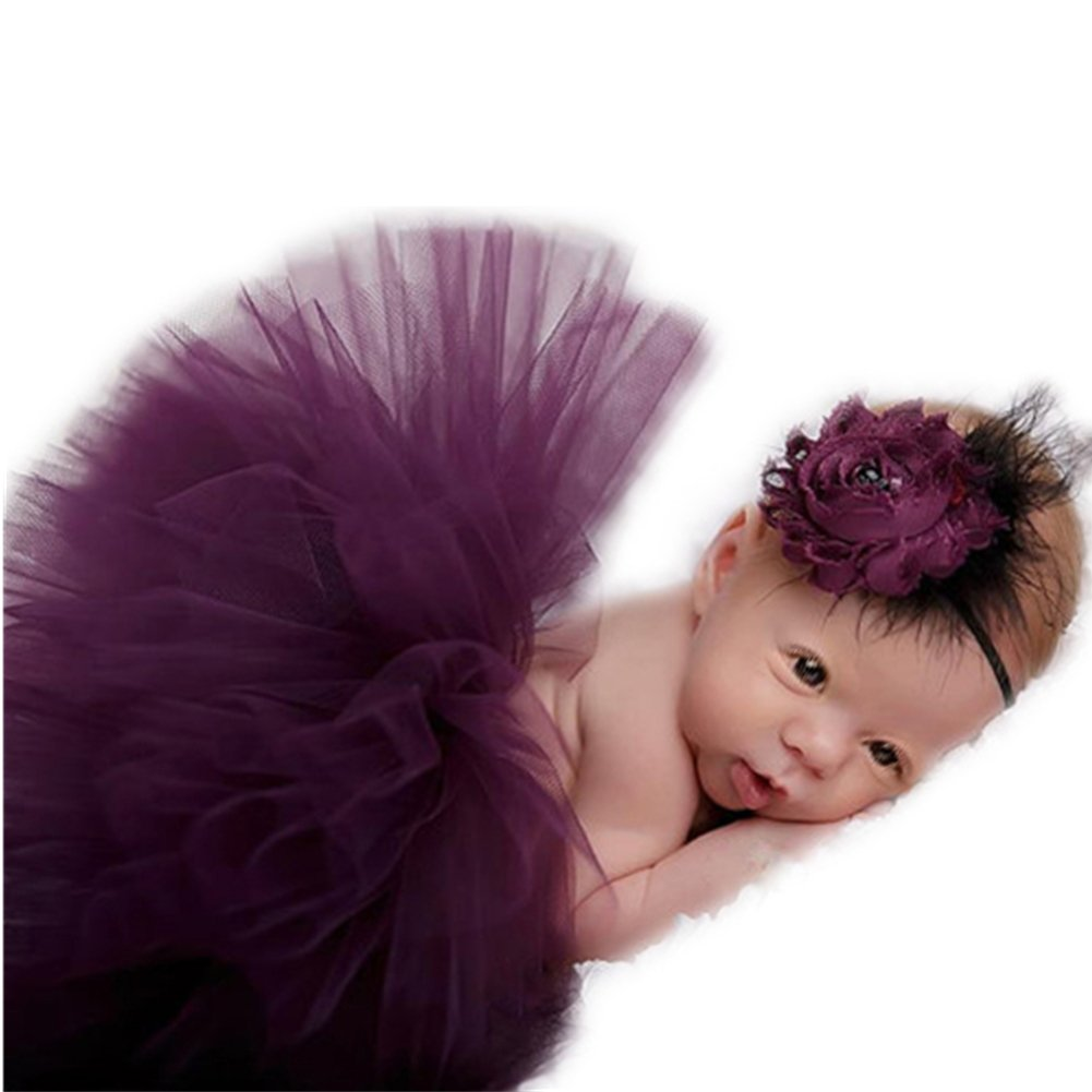 Newborn Baby Photo Props Tutu Dress Costume Photography Shoot Clothing for Girls Vemonllas JNA-030