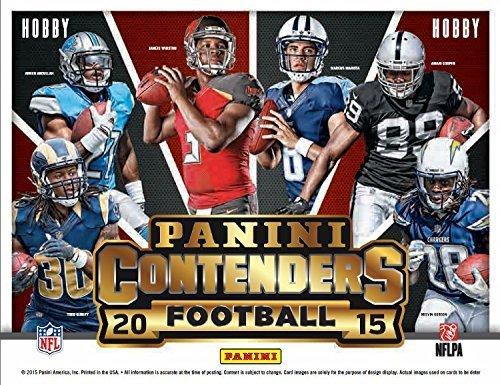 2015 PANINI CONTENDERS FOOTBALL 5 AUTO HOBBY BOX - MARIOTA? GURLEY? by Panini
