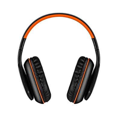 Alonea KOTION EACH B3506 Bluetooth Headphones Wireless Headset Foldable Game Headset (Orange)