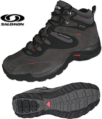 SALOMON Elios 2 Mid GTX Men's Travelling Boot, Grey, UK8.5