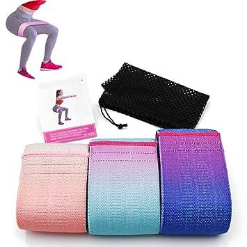 CWDXD Yoga Strap Bandas de Resistencia Círculo de Cadera de ...