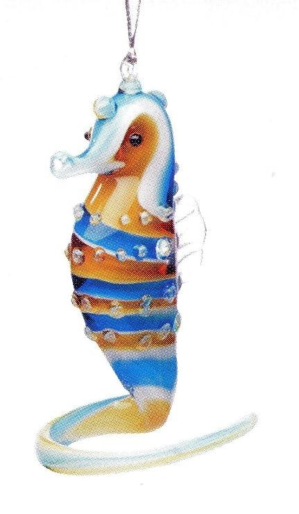 Dynasty Gallery Glass Seahorse Ornament 20803B 3 inches - Amazon.com: Dynasty Gallery Glass Seahorse Ornament 20803B 3 Inches