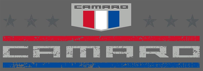 JH DESIGN GROUP Mens Chevy Camaro T-Shirt Stars /& Bars Crew Neck Shirt 2 Colors