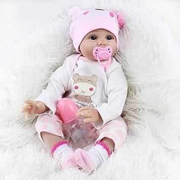 Kaydora Huggable Reborn Baby Girl Doll, 22