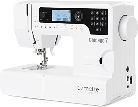 Bernina 4260366210536 - Maquina de Coser y Bordar Bernette Chicago ...