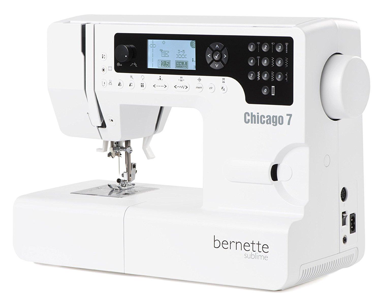Bernette Chicago 7 - Nähmaschine und Stickmaschine/197 Stich- und ...