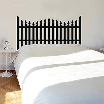 Mairgwall bett kopfteil aufkleber bett zäune vinyl master room art ...