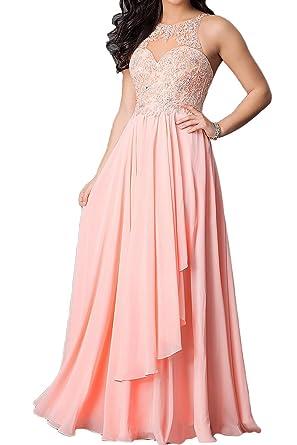c8b6f7fbbffea0 Carnivalprom Damen Spitze Applikationen Abendkleider Lang Hochzeit  Partykleider Ballkleider: Amazon.de: Bekleidung