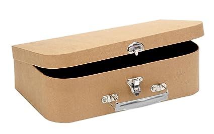 Glorex GmbH GLOREX 6 2027 030 Maleta de viaje de cartón, 30 x 17,