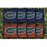 8 Florida UF Gators Gator Skin Regulation Corn Filled Cornhole Bags