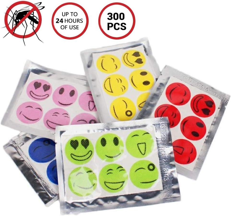 50 Unidades SayHia Parche antimosquitos DEET-Free 24 Horas de protecci/ón contra Insectos Seguro para beb/és Accesorios de Viaje Ideal para Interiores y Exteriores para picnics para ni/ños