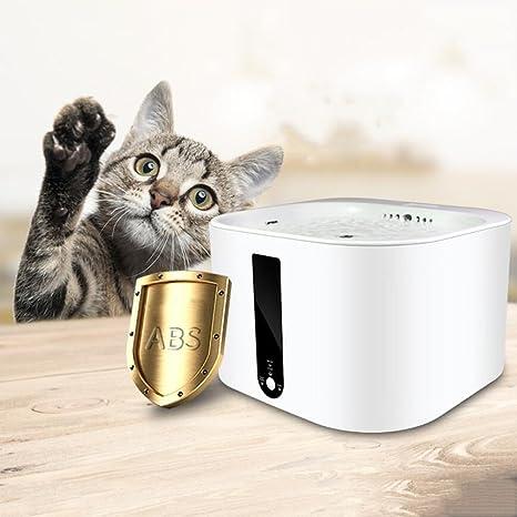 WENXX Agua para Mascotas, Dispensador Automático De Agua para La Circulación, Dispensador Inteligente para Agua para Mascotas: Amazon.es: Hogar
