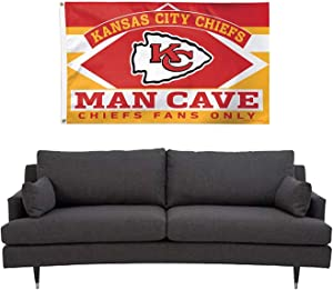 Reddingtonflags NFL Teams Man CAVE Fans ONLY Flag 3x5ft Banner