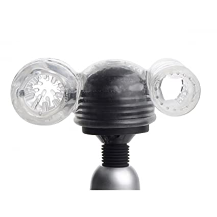 TWIN TURBO Stroker 2 en 1 varilla Vibrador accesorio