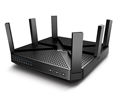 TP-Link (Archer C4000) AC4000 Tri Band WiFi Router – MU-MIMO, Beamforming,  Gigabit, Works with IFTTT, Integrated Anti-Virus & QoS, Link Aggregation