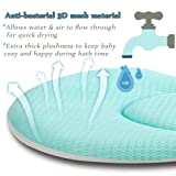 Baby Bath Cushion Sink Bather, Soft Quick Drying
