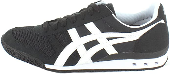 onitsuka tiger mexico 66 slip on black and white letra ingles