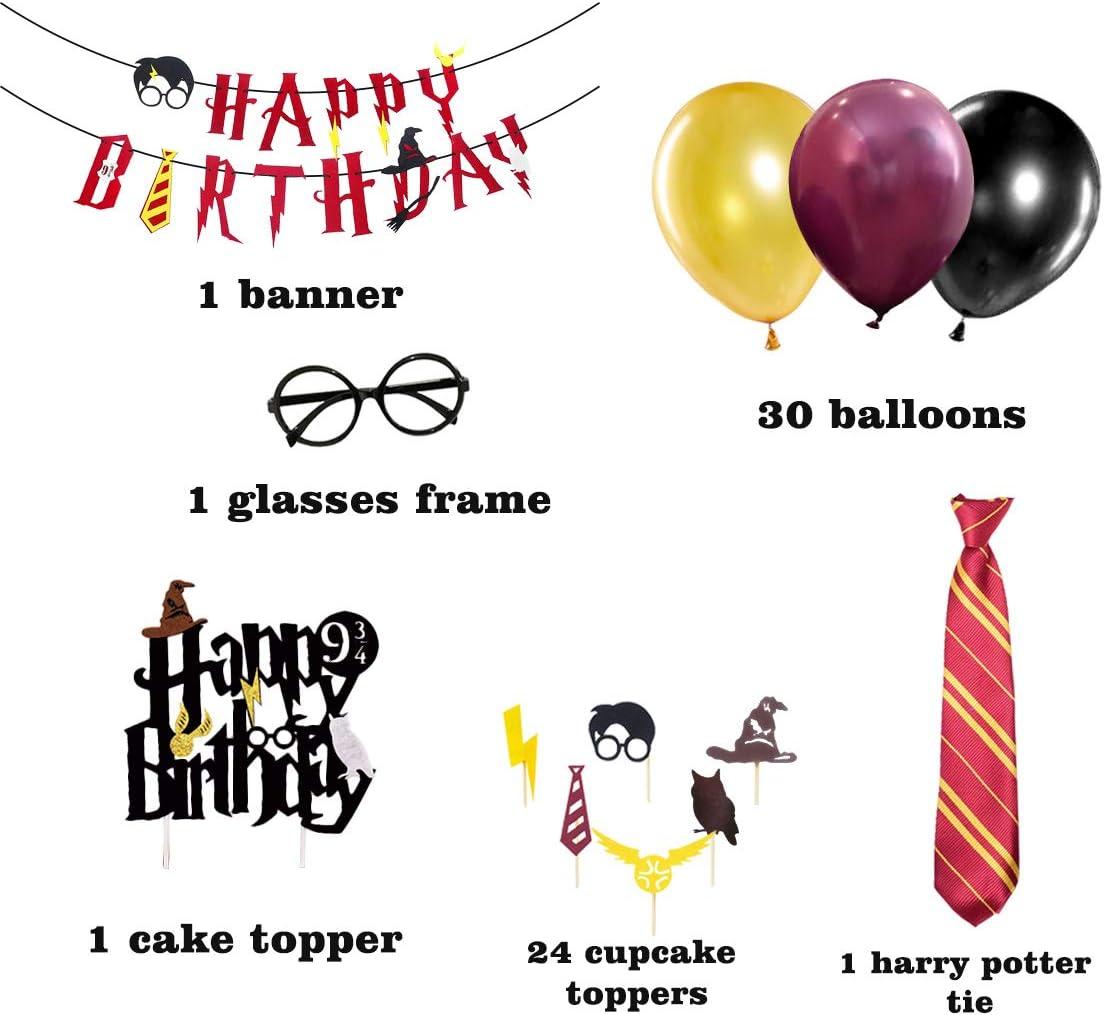 Suministros para la Fiesta de Harry Potter, Estandarte de ...