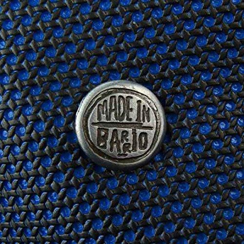 Schultertasche hoch blau - vegan - Fair Trade - Kunstleder - recycling Tasche