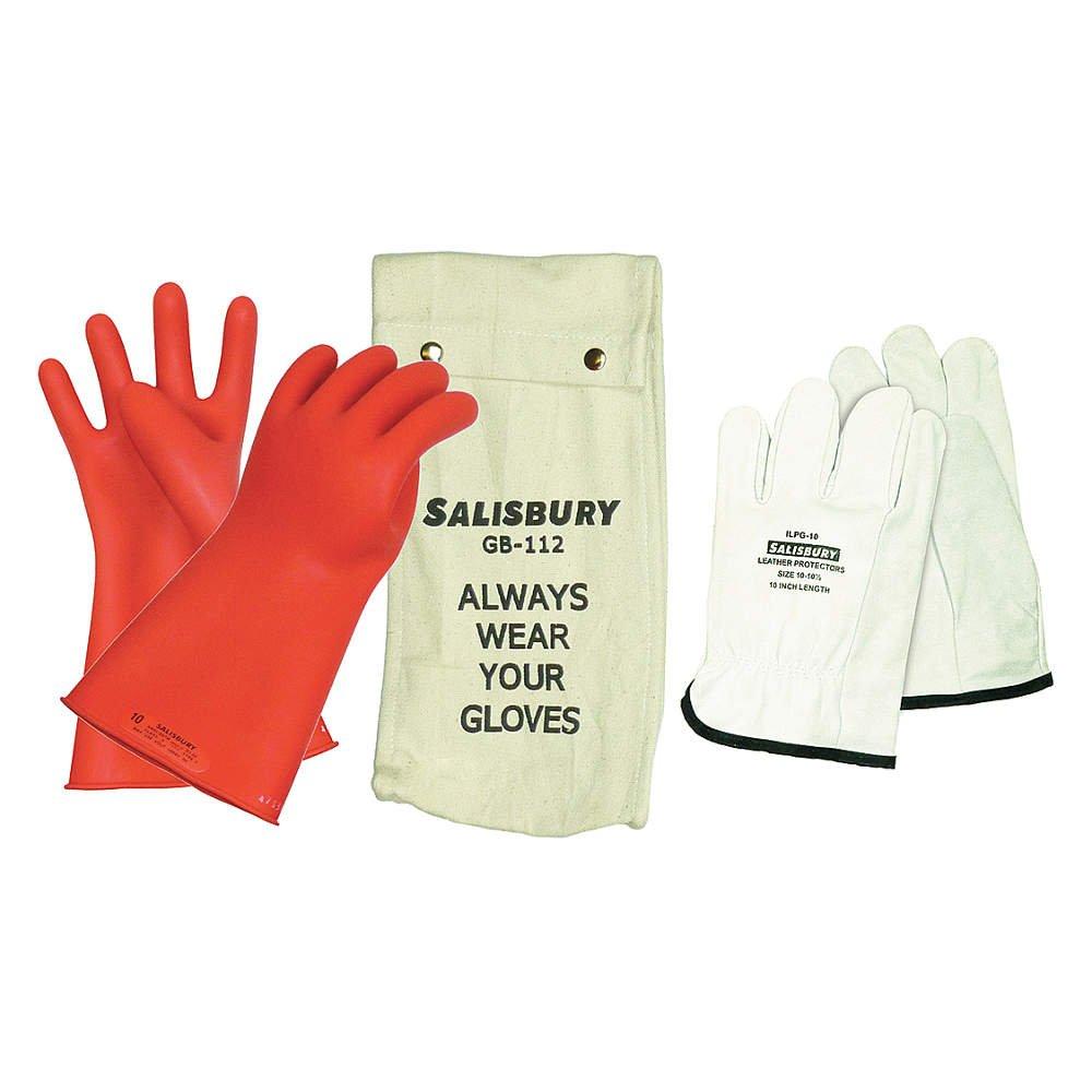 Electrical Glove Kit, Class 0, Sz 8-1/2, PR