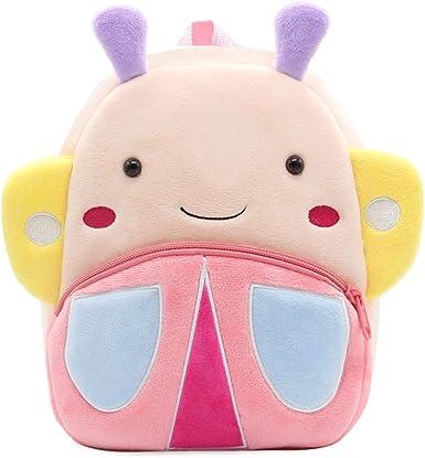 Lovely Baby Toddler Kids Mini Animal Backpack Plush Schoolbag Shoulder Bag Gift