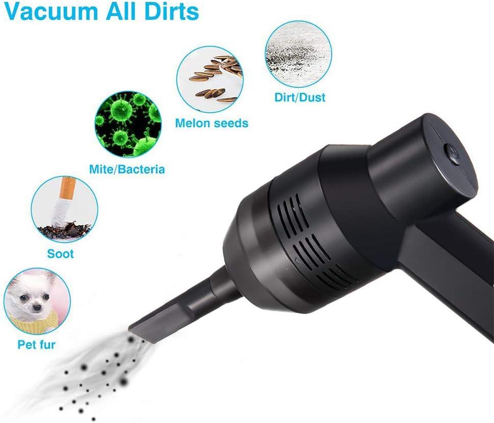 DDIAN Limpiador del Teclado con Recargable Mini Aspirador con Gel De Limpieza