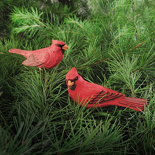 (Cardinal Clip Christmas Ornament, Assortment of 2,)