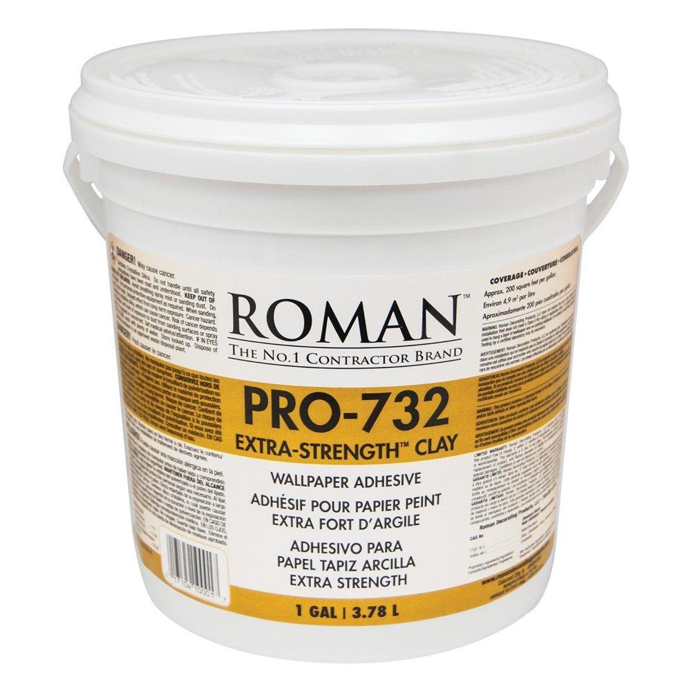 Roman 010001 PRO-732 1 gal Extra Strength Wallpaper Adhesive