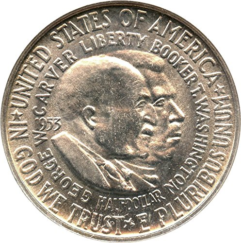1953 P Silver Commems (1892-1954) Washington-Carver Half Dollar MS65 NGC