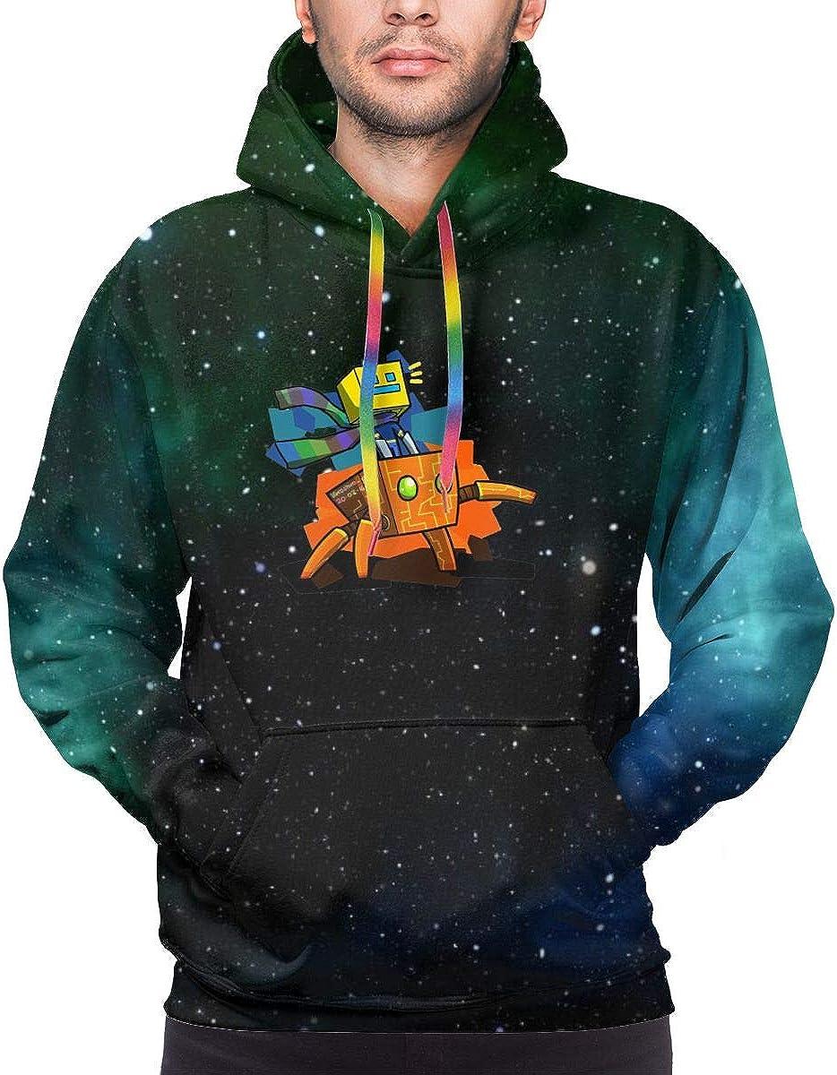 Ge-om-etry Gam Da-sh Men's Sweatshirt Hooded Pullover Hoodie Long Sleeve Color Drawstring