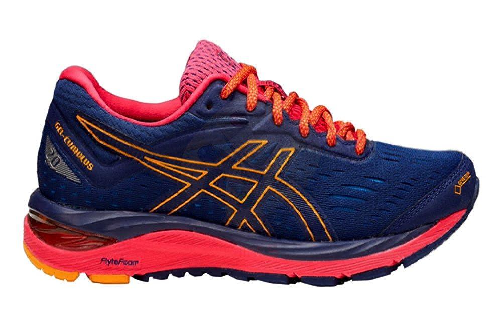 1692bcf5 Asics Gel Cumulus 20 G-TX Ladies Fitness Running Shoes Blue: Amazon ...