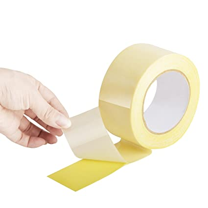 2 PACKS Double Sided Carpet Tape, 1.88-Inch x 16 Yards, Extra Thick and No Residue of Heavy Duty Tape - - Amazon.com