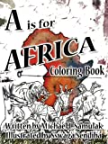 A is for Africa: Coloring Book