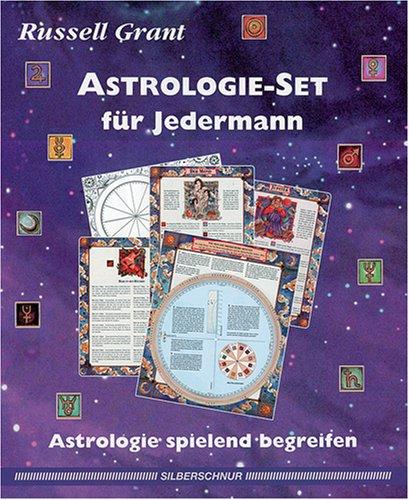 Astrologie- Set für Jedermann. Astrologie spielend begreifen